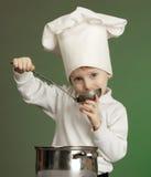 εύθυμος μάγειρας Στοκ Εικόνα