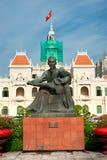 人的委员会大厦,胡志明市。 免版税库存图片