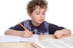 家庭作业 库存图片