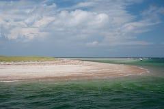 треска плащи-накидк пляжа Стоковые Фотографии RF