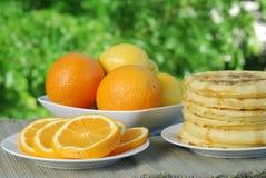 лето завтрака-обеда Стоковая Фотография