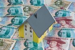 加冠货币瑞典 免版税库存图片