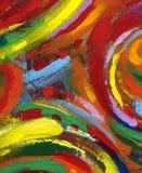 ζωγραφική ανασκόπησης Στοκ φωτογραφία με δικαίωμα ελεύθερης χρήσης