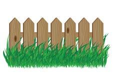 оградите деревянное Стоковая Фотография