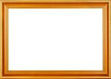 рамка золотистая Стоковое Фото