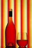 κόκκινο άκαυλο κρασί γυ&a Στοκ εικόνες με δικαίωμα ελεύθερης χρήσης