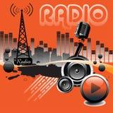 收音机 免版税图库摄影