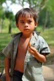 柬埔寨孩子 库存照片
