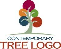 当代图标结构树 库存图片