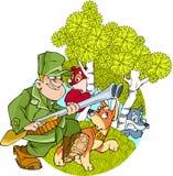 狩猎 免版税图库摄影