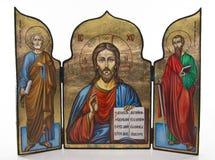 基督图标耶稣 免版税库存图片