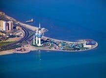 πύργοι του Κουβέιτ Στοκ Εικόνες