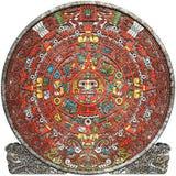 玛雅的日历 图库摄影