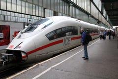 σαφές τραίνο Στοκ Φωτογραφία