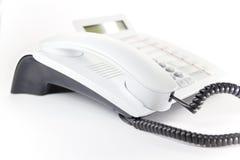 телефон настольного компьютера Стоковая Фотография