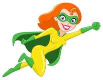 超级的女英雄 库存图片