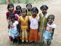 印第安语的子项 库存照片