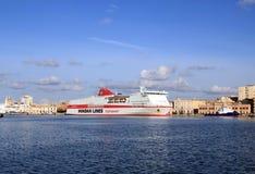 巡航奥林匹亚宫殿船 库存图片
