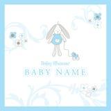 карточка младенца прибытия Стоковое Изображение