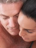 взрослая влюбленность средняя Стоковое фото RF