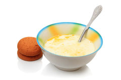 牛奶汤 免版税库存照片