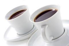 咖啡杯二 免版税库存图片