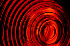 轻的宏观红色射击 免版税库存照片