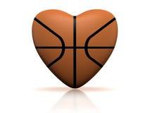 篮球重点 图库摄影