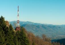 ραδιο όψη βουνών ιστών Στοκ φωτογραφία με δικαίωμα ελεύθερης χρήσης