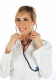 χαμόγελο νοσοκόμων Στοκ φωτογραφία με δικαίωμα ελεύθερης χρήσης