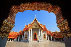 曼谷大理石寺庙泰国 免版税库存图片