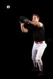 棒球运动员 免版税库存图片