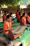 传统音乐的性能 库存图片