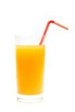 柑橘玻璃汁液 库存照片