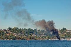 неограниченное пожара гидро Стоковая Фотография RF