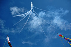 небо цветка Стоковая Фотография