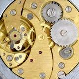 钟表机构 库存照片