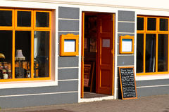 爱尔兰语五颜六色的房子 库存图片