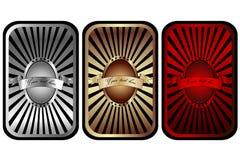 коммерчески комплект ярлыков Стоковые Фотографии RF