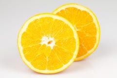 πορτοκάλι μισών Στοκ Φωτογραφίες