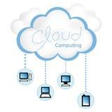 υπολογισμός σύννεφων Στοκ φωτογραφίες με δικαίωμα ελεύθερης χρήσης
