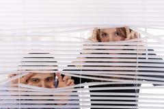 ослепляет окно Стоковая Фотография RF