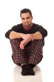 пижамы человека Стоковая Фотография RF