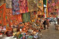 著名耶路撒冷市场 库存图片