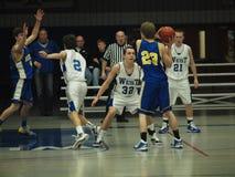 баскетбол действия Стоковое Изображение