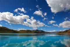 圣洁湖 库存照片