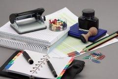 办公室文教用品 免版税库存图片