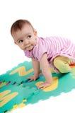 逗人喜爱的婴孩一点 图库摄影