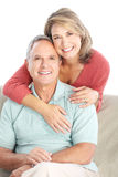夫妇前辈 免版税库存照片