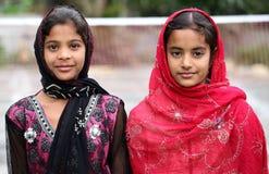 回教的女孩 免版税库存照片